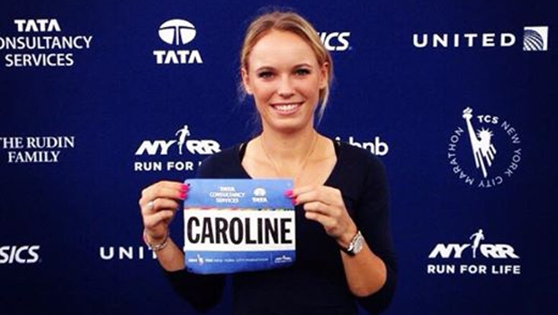 Caroline Wozniacki is set for the NYC Marathon