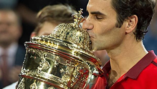 Federer wins Basel