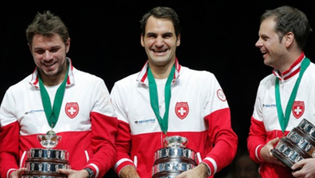 Federer loves the Davis Cup