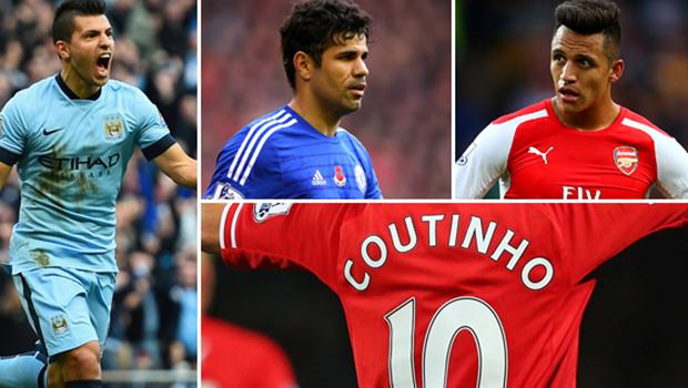 South Americans in Premier League