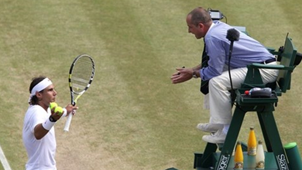 Tennis umpire banned for life