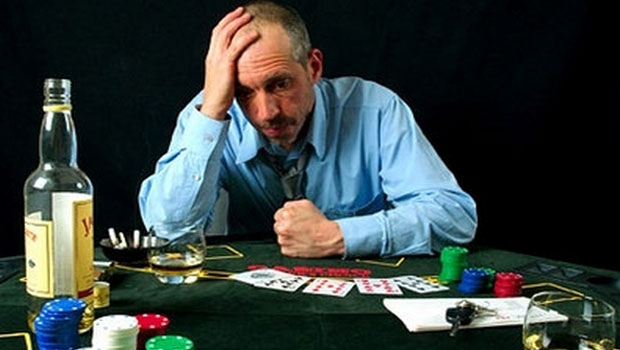 Problem encountered with gambling addiction