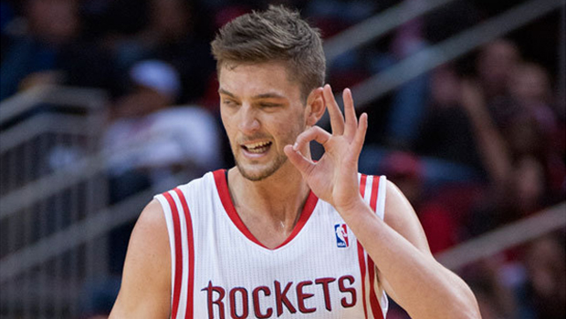 Parsons greeted at rockets