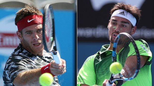 Sydney Open duel – Juan Martin del Potro and Fabio Fignini