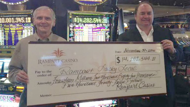 Gambler wins XX millions in 5 minutes