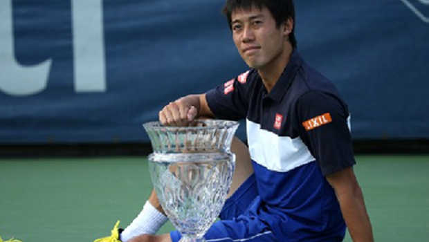 Nishikori wins the 10th career