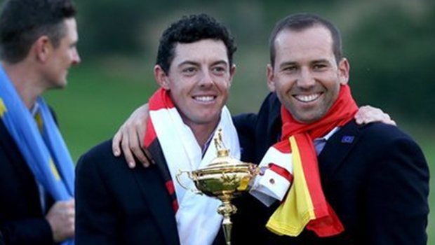 Rory McIlroy and Charley