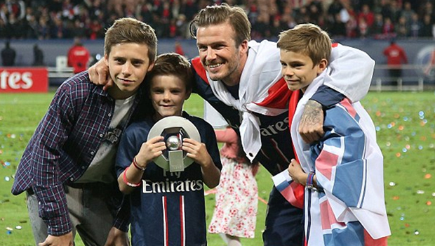 Beckham in Arsenal