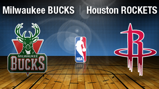 Bucks against the Rockets