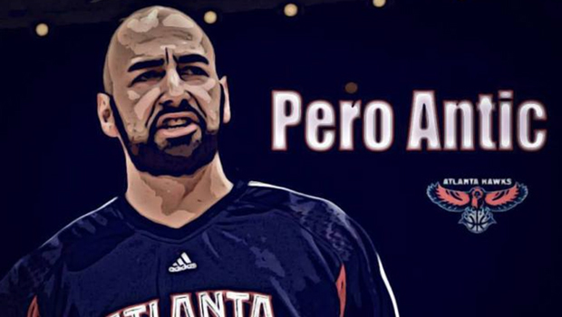 Pero Antic while in NBA
