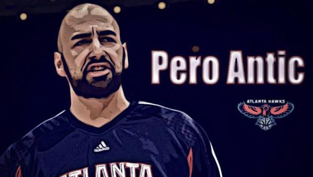 Pero Antic while in NBA