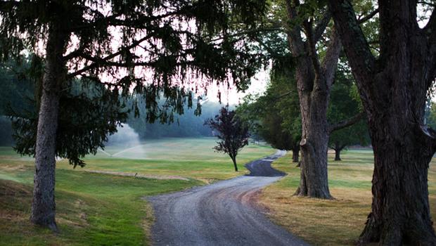 Renovating a golf course