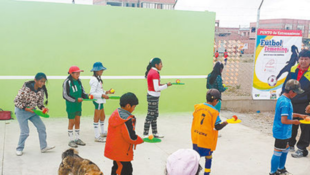 El Alto Tennis project