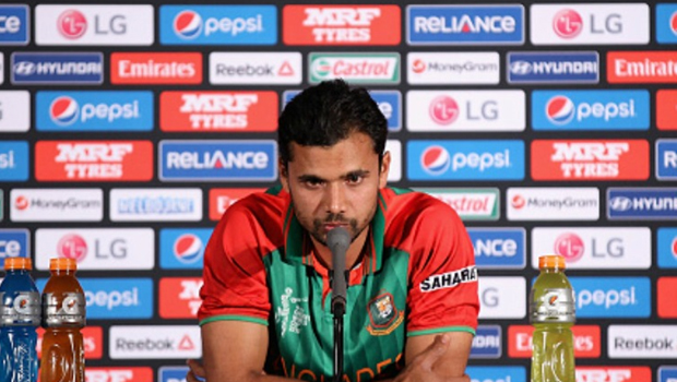 Mortaza talks