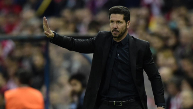 Real Madrid left Simeone