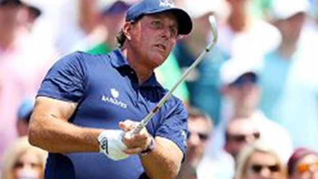 Golfer Mickelson