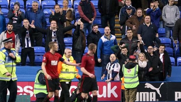 British football fans