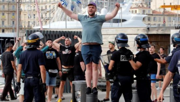 The football fans of Russia have been imprisoned in France due to violence