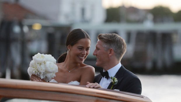 Bastian Schwiensteiger and Ana Ivanovic wedding ceremony in Venice