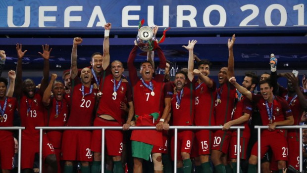 Portugal's win against the Euro cup host France