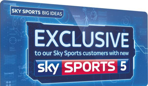 Sky sports in the game of football