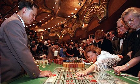 Britain gamblers increasing gradually