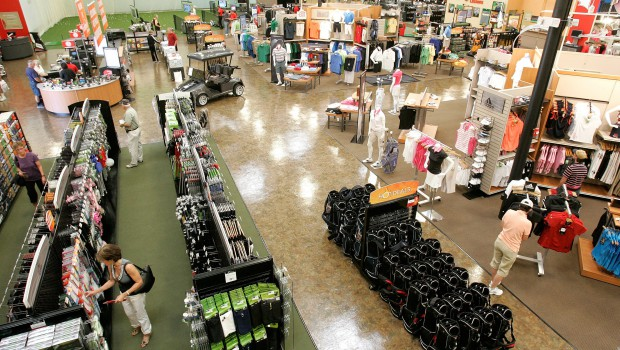 Golfsmith files insolvency with sport's fame weakening