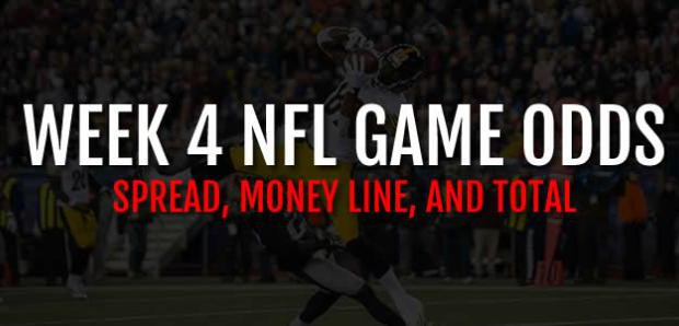 NFL betting odds, picks and lines for every week
