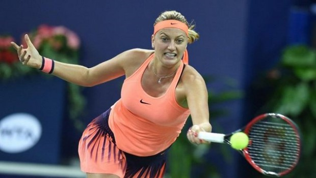 Kvitova shows how to play with passion