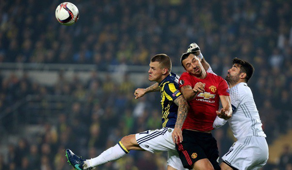 Manchester United of Mourinho wrecks in Turkey for the Europa League