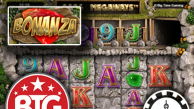 Play the Bonanza Megaways Slot Machine from BTG at Cheri Casino