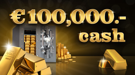 Win prizes worth € 100,000