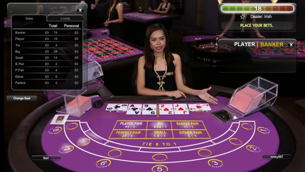 Baccarat changes face with Playtech Prestige range