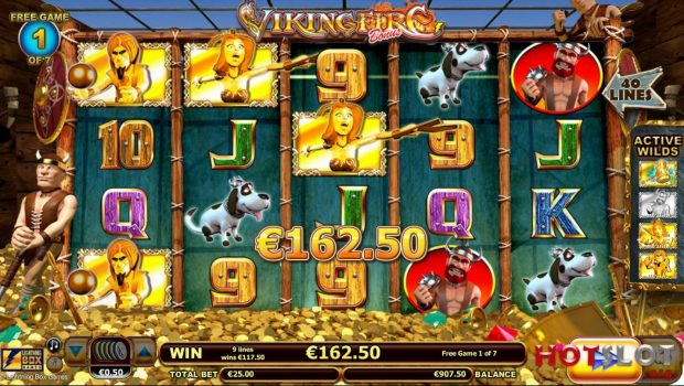 Betsson exclusively launches the Viking Fire slot machine