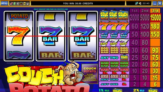 A player wins big by playing Couch Potato on Jackpot City