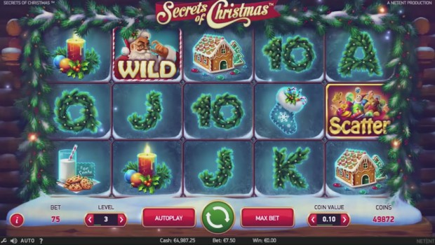 NetEnt Slot Machine Launches the Secrets of Christmas