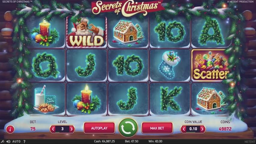 Secrets Of Christmas Online Spilleautomat - NetEnt - Rizk Casino