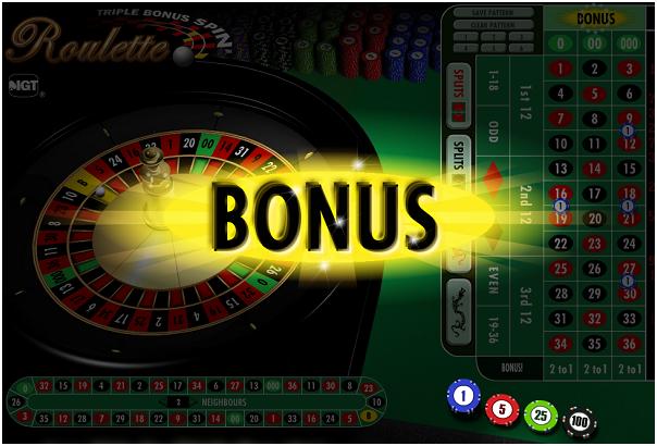 Online casino bonus roulette