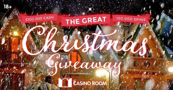 Promotion Great Christmas Giveaway on Casino Room