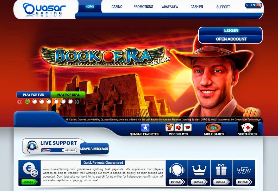 Casino Online Quasar Gaming