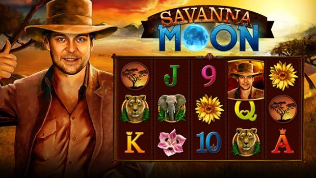 Savanna Moon-The Bally Wulff slot machine for the full moon