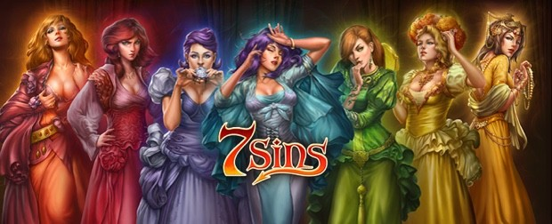 The Play'n Go software provider launches the 7 Sins slot machine