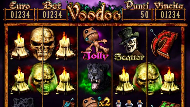 Endorphina has just launched the new Voodoo slot machine