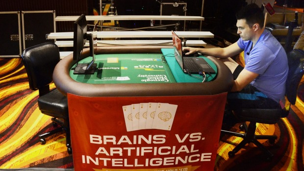 An Artificial Intelligence confronts 4 pro poker players, who will win?