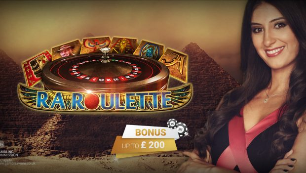 BOOK OF RA ROULETTE from Novomatic at Betsson Casino