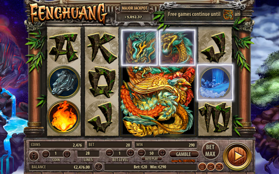 New Fenghuang Slot Machine from Habanero Developer