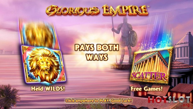 The NextGen Glorious Empire slot machine is already available