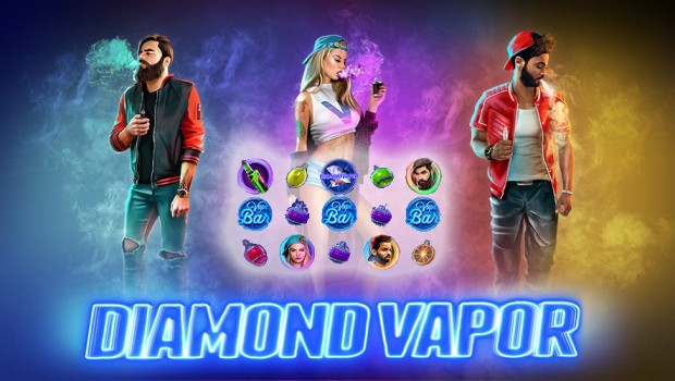 Endorphina launches Diamond Vapor slot machine