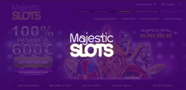 Entertainment on the French casino Majestic Slots