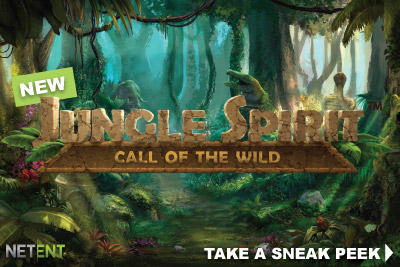 Discover the game Jungle Spirit: Call of the Wild by NetEnt